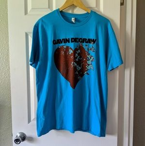 Gavin Degraw 2016 Tour T-shirt NWOT